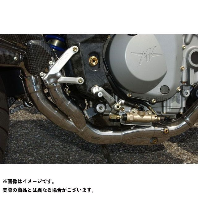 BODIS その他のモデル エキゾーストパイプ catalyzer replacement pipe Without Homologation ステンレス ground for Brutale(02-06)|MBRUTALE-002 ボディス
