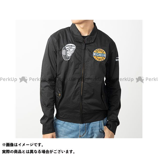 Michelin ジャケット 2020春夏モデル ML20103S ナイロンジャケット(ブラック) サイズ:L ミシュラン