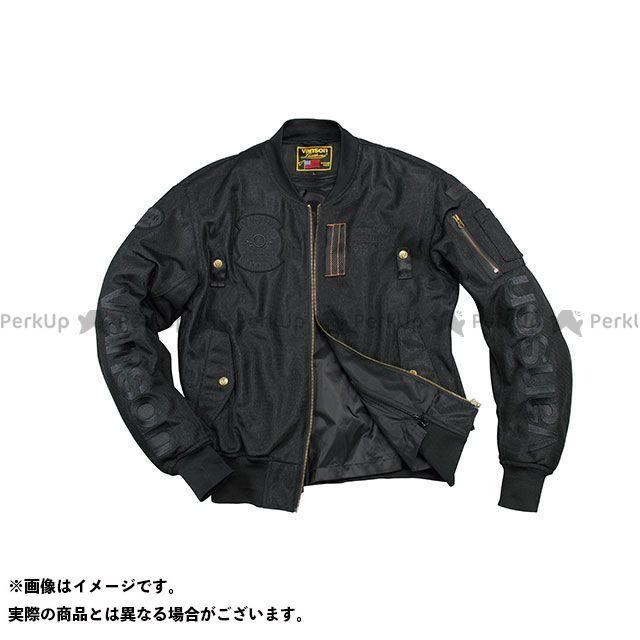 バンソン ジャケット 2020春夏モデル VS20102S メッシュジャケット(ブラック/ブラック) サイズ:XL VANSON