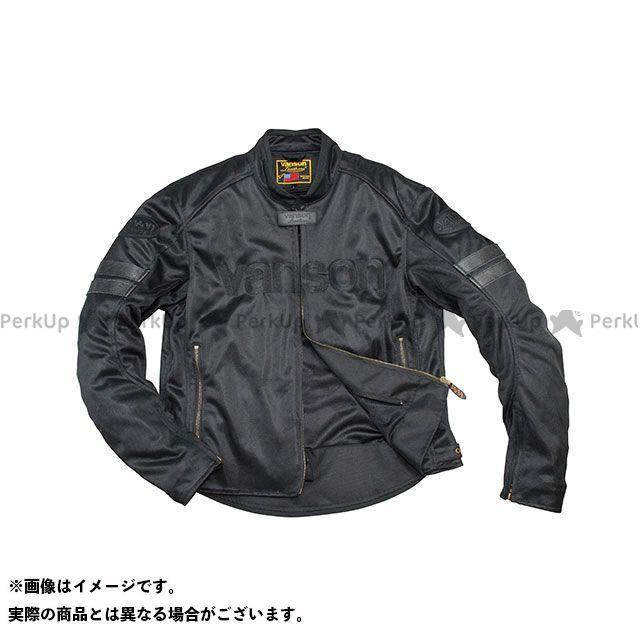 バンソン ジャケット 2020春夏モデル VS20106S メッシュジャケット(ブラック/ブラック) サイズ:2XL VANSON