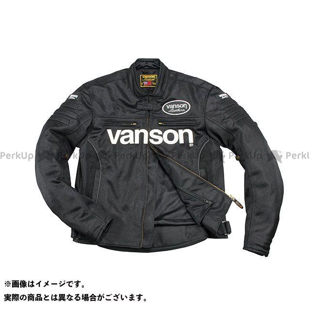 バンソン ジャケット 2020春夏モデル VS20107S メッシュジャケット(ブラック/ホワイト) サイズ:2XL VANSON