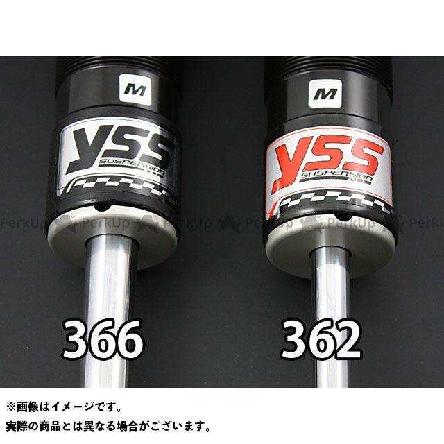 YSS YSS RACING リアサスペンション関連パーツ サスペンション YSS RACING XG750 ストリート750 リアサスペンション関連パーツ Rod Line ZR366 300mm/11.8inc ブラック クローム YSS