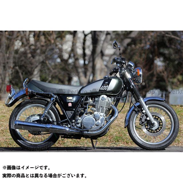 【エントリーで最大P21倍】スペシャルパーツタダオ SR400 マフラー本体 POWER BOX パイプ(インナーBOXタイプ) SP忠男
