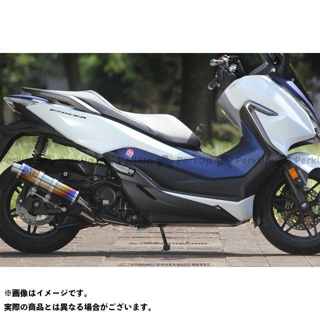 スペシャルパーツタダオ フォルツァ マフラー本体 POWER BOX FULL S チタンブルー SP忠男