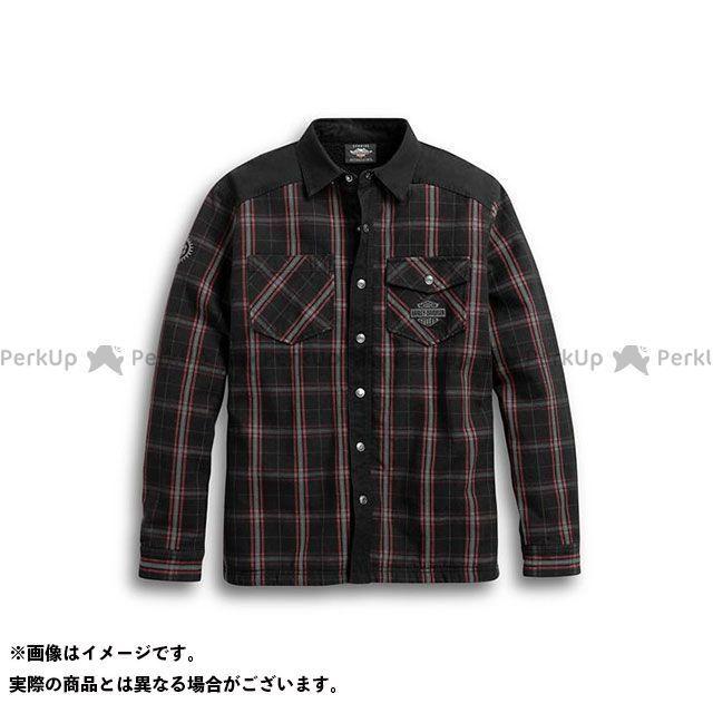 HARLEY-DAVIDSON ジャケット Sherpa Fleece Lined Shirt Jacket(ブラック) サイズ:L ハーレーダビッドソン