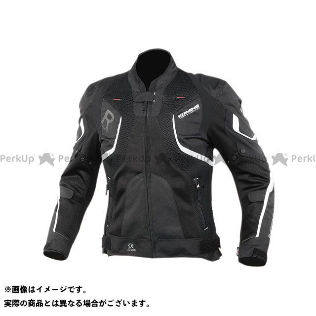 KOMINE ジャケット 2020春夏モデル JK-143 Rスペックメッシュジャケット(ブラック) サイズ:S コミネ