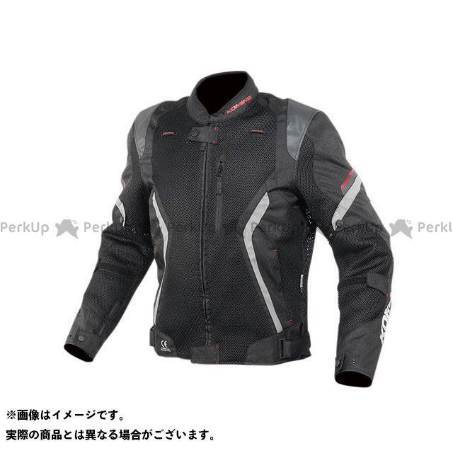 KOMINE ジャケット 2020春夏モデル JK-144 リフレクトメッシュジャケット(ブラック) サイズ:L コミネ