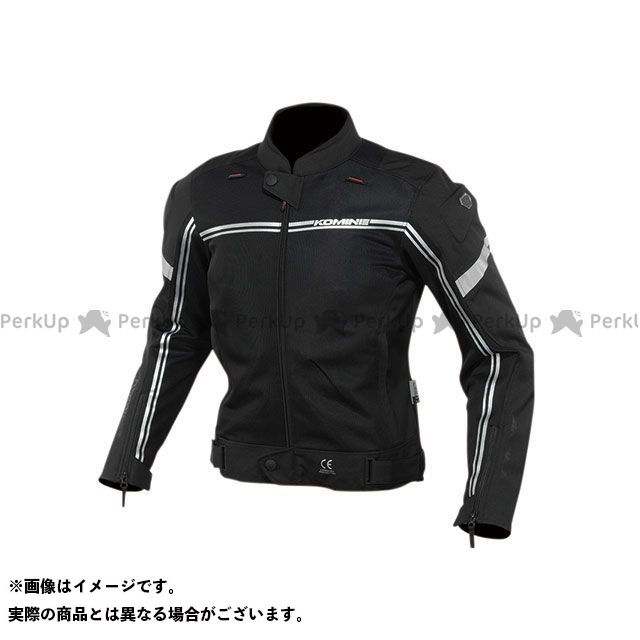 KOMINE ジャケット 2020春夏モデル JK-145 エアストリームメッシュジャケット(ブラック) サイズ:5XLB コミネ