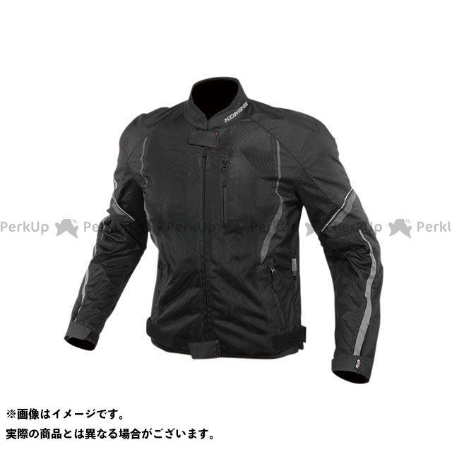 KOMINE ジャケット 2020春夏モデル JK-146 プロテクトハーフメッシュジャケット(ブラック) サイズ:M コミネ