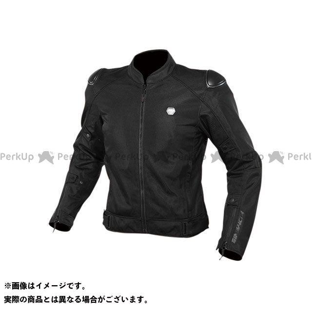 KOMINE ジャケット 2020春夏モデル JK-147 プロテクトストリートメッシュジャケット(ブラック) サイズ:M コミネ