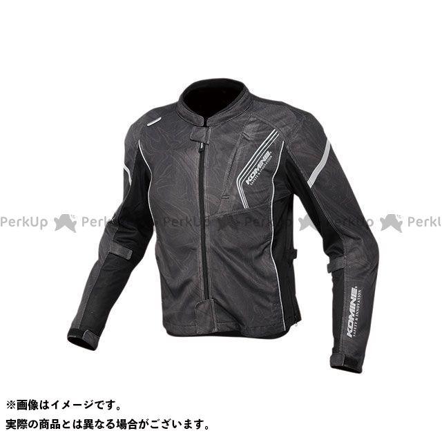 KOMINE ジャケット 2020春夏モデル JK-128 プロテクトフルメッシュジャケット(ブラックマーブル) サイズ:S コミネ