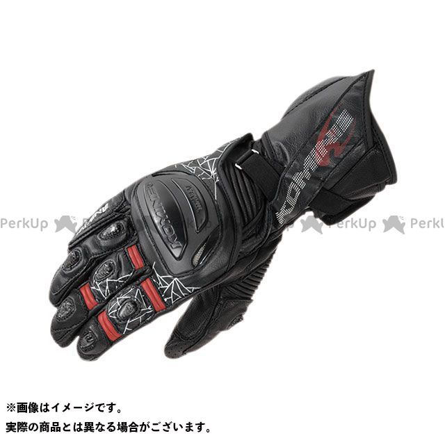 KOMINE レーシンググローブ 2020春夏モデル GK-235 チタニウムレーシンググローブ(ブラック) サイズ:M コミネ