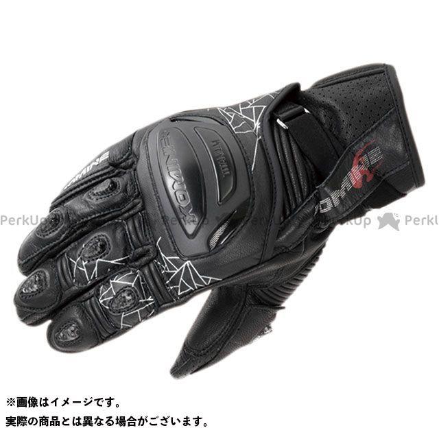 KOMINE レザーグローブ 2020春夏モデル GK-236 チタニウムスポーツグローブ(ブラック) サイズ:M コミネ