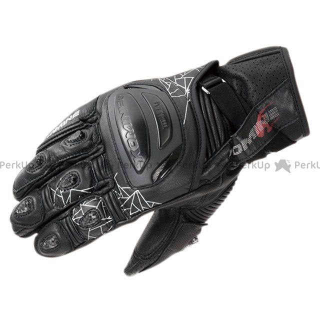 KOMINE レザーグローブ 2020春夏モデル GK-236 チタニウムスポーツグローブ(ブラック) サイズ:XL コミネ