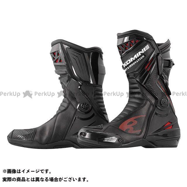 KOMINE レーシングブーツ 2020春夏モデル BK-087 スプリームレーシングブーツ(ブラック) サイズ:25.0cm コミネ