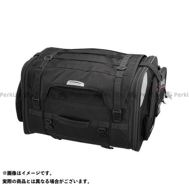 KOMINE ツーリング用バッグ SA-242 ロングジャーニーシートバッグ(ブラック) コミネ