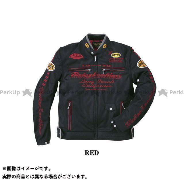 BATES ジャケット 2020春夏モデル BJ-M2014RS メッシュジャケット(レッド) サイズ:L ベイツ