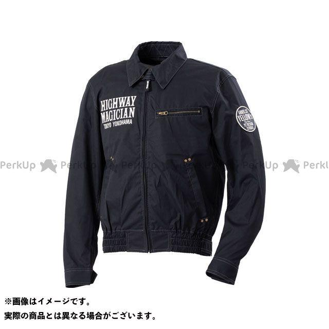 YeLLOW CORN ジャケット 2020春夏モデル YB-0100 コットンジャケット(ブラック) サイズ:L イエローコーン