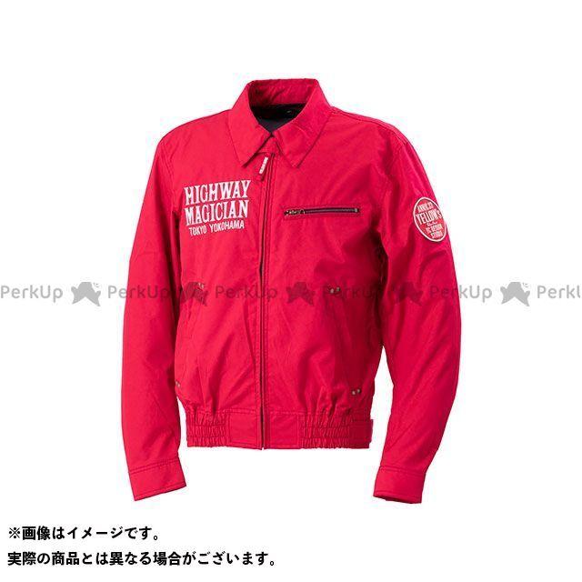 YeLLOW CORN ジャケット 2020春夏モデル YB-0100 コットンジャケット(レッド) サイズ:3L イエローコーン