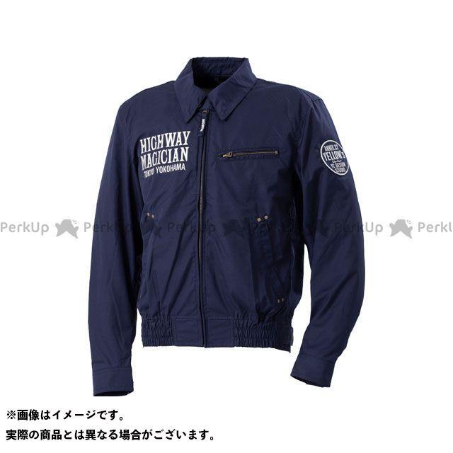 YeLLOW CORN ジャケット 2020春夏モデル YB-0100 コットンジャケット(ネイビー) サイズ:LL イエローコーン