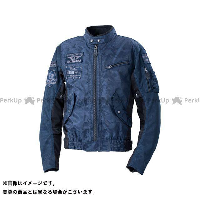 YeLLOW CORN ジャケット 2020春夏モデル YB-0103 コンビメッシュジャケット(ネイビーカモフラージュ) サイズ:M イエローコーン