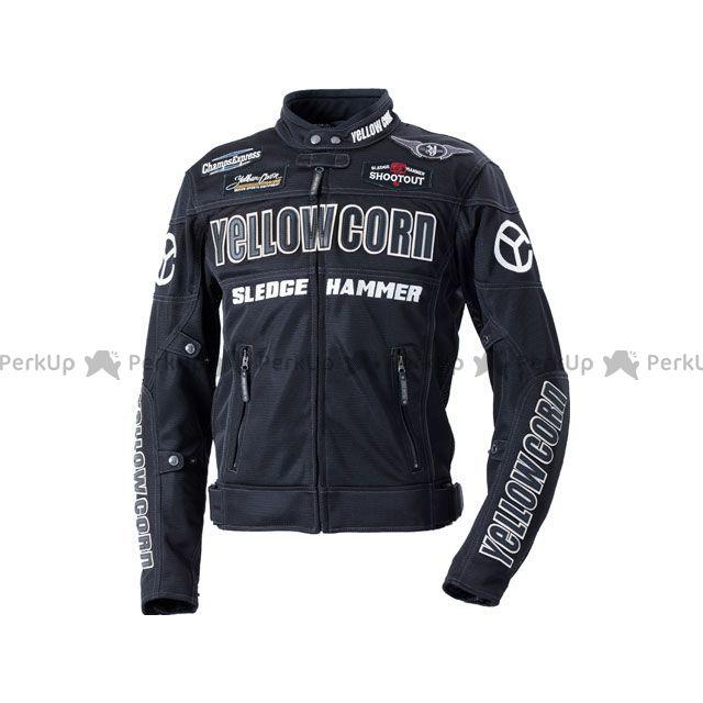 YeLLOW CORN ジャケット 2020春夏モデル BB-0104 メッシュジャケット(ブラック/ブラック) サイズ:M イエローコーン