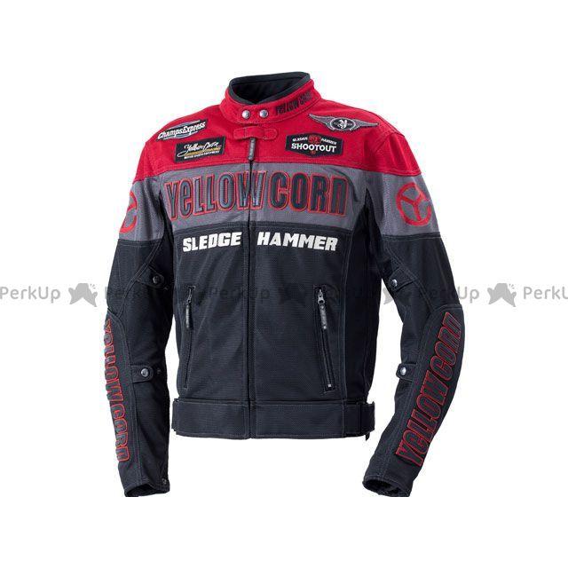 YeLLOW CORN ジャケット 2020春夏モデル BB-0104 メッシュジャケット(レッド/ブラック) サイズ:3L イエローコーン