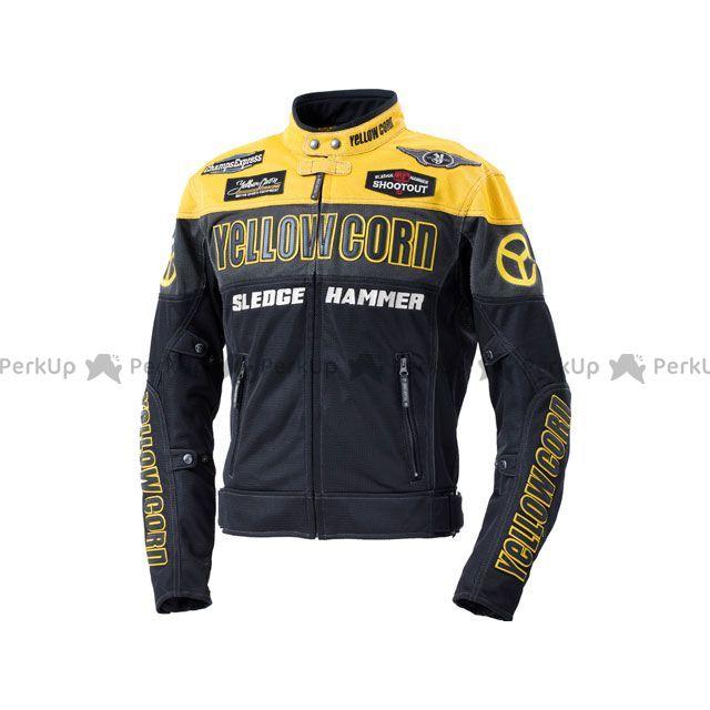 YeLLOW CORN ジャケット 2020春夏モデル BB-0104 メッシュジャケット(イエロー/ブラック) サイズ:LL イエローコーン