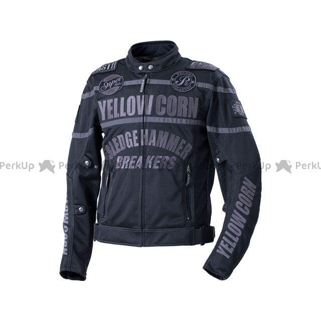 YeLLOW CORN ジャケット 2020春夏モデル BB-0108 メッシュジャケット(ブラック/ブラック) サイズ:M イエローコーン