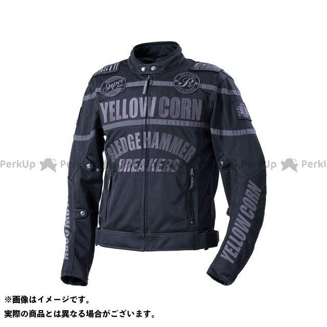 YeLLOW CORN ジャケット 2020春夏モデル BB-0108 メッシュジャケット(ブラック/ブラック) サイズ:L イエローコーン