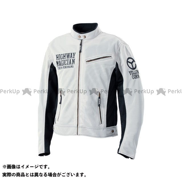 YeLLOW CORN ジャケット 2020春夏モデル YB-0121 ライトメッシュジャケット(アイボリー) サイズ:LL イエローコーン