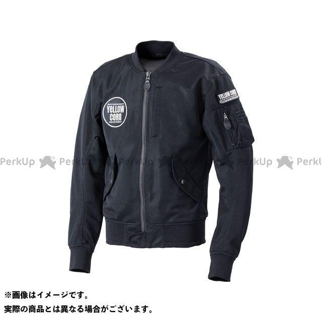 YeLLOW CORN ジャケット 2020春夏モデル YB-0122 ライトメッシュジャケット(ブラック/アイボリー) サイズ:LL イエローコーン