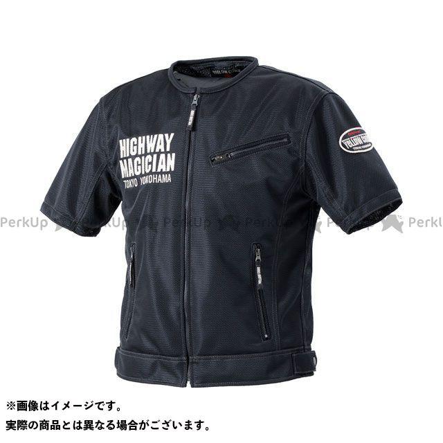 YeLLOW CORN カジュアルウェア 2020春夏モデル YMT-001 プロテトメッシュTシャツ(ブラック) サイズ:LL イエローコーン