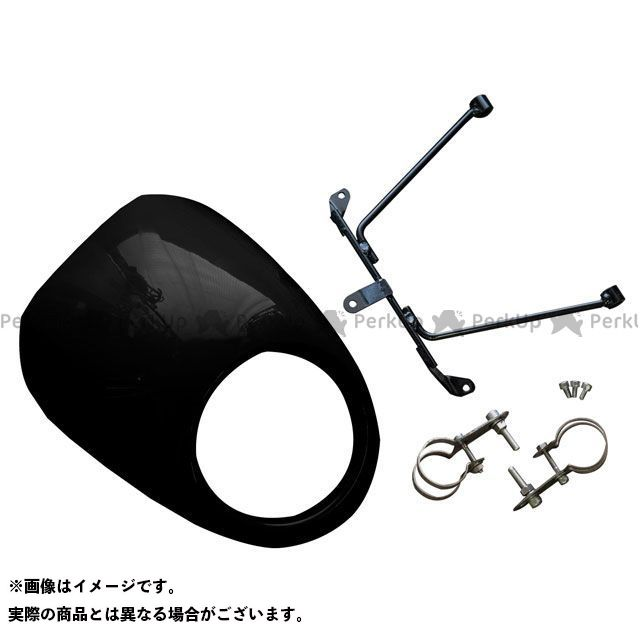【特価品】WW レブル250 レブル500 カウル・エアロ レブル250/500用 ビキニカウル グラファイトブラック ワールドウォーク