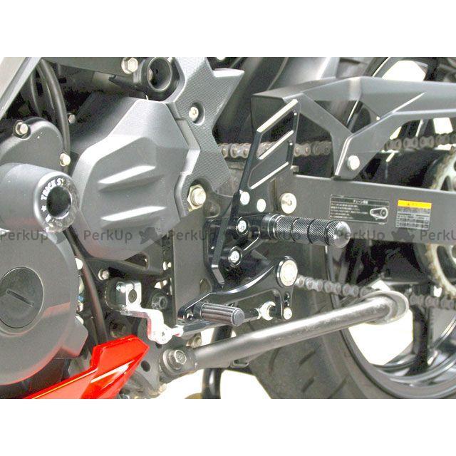 【無料雑誌付き】SANSEI RACING ニンジャ250 ニンジャ400 ステップ ZNICマルチステップ(ケミカルブラック) サンセイ