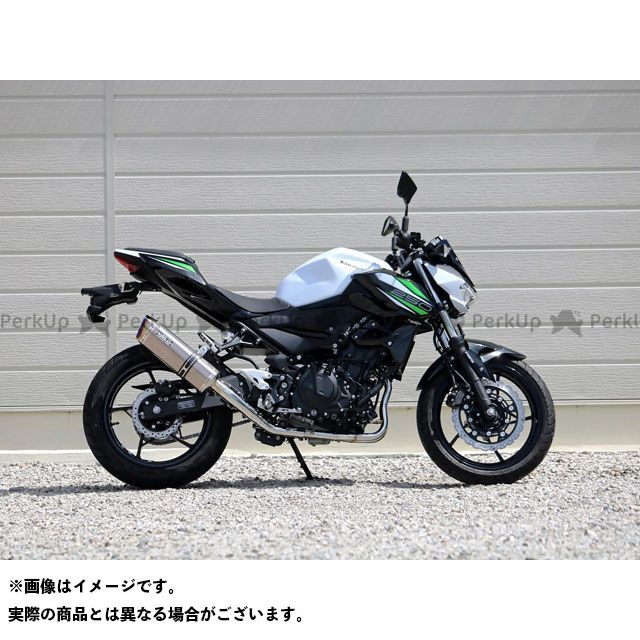 WR'S Z250 マフラー本体 SS-OVALフルエキゾースト ソリッド WR'S