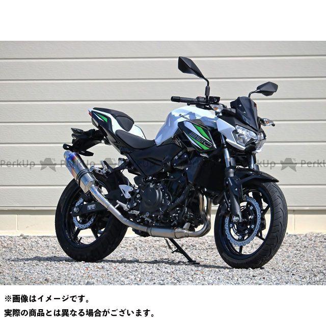 【エントリーで更にP5倍】WR'S Z250 Z400 マフラー本体 OVALリアエキゾースト 焼色 WR'S