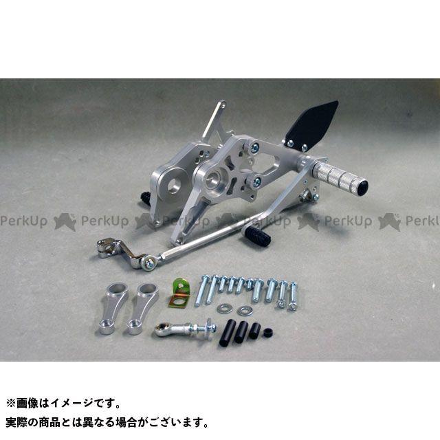 【無料雑誌付き】WR'S ファイアーストーム バックステップ関連パーツ バトルステップ3ポジション シルバー WR'S