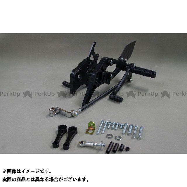 【無料雑誌付き】WR'S ファイアーストーム バックステップ関連パーツ バトルステップ3ポジション ブラック WR'S