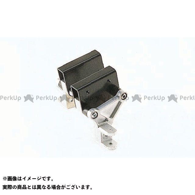 【無料雑誌付き】WR'S ニンジャ900 タンデムステップ関連パーツ タンデムキット(シルバー) WR'S