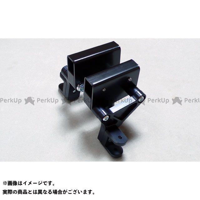 【無料雑誌付き】WR'S ニンジャ900 タンデムステップ関連パーツ タンデムキット(ブラック) WR'S