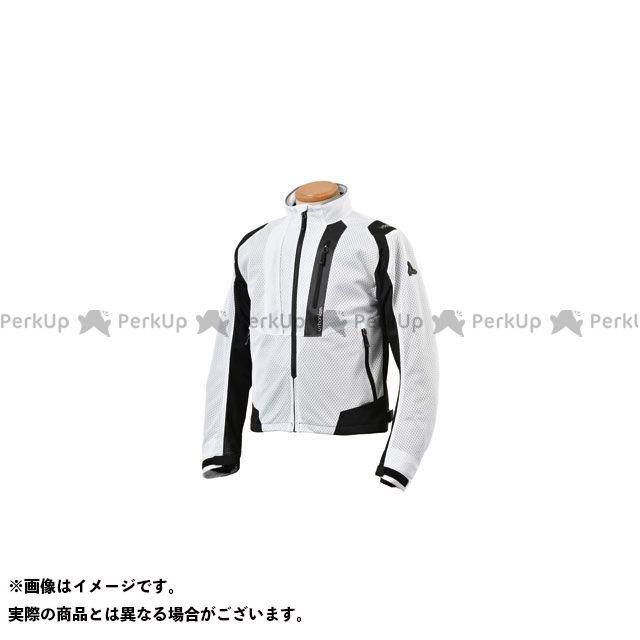 アーバニズム ジャケット 2020春夏モデル UNJ-078 ライドメッシュジャケット(ホワイト) サイズ:3L urbanism