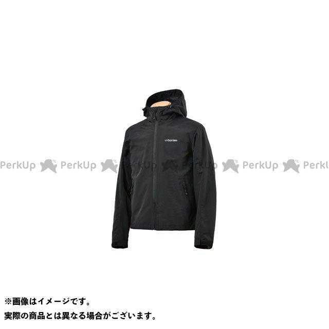 アーバニズム ジャケット 2020春夏モデル UNJ-082 プロテクションパッカブルジャケット(ブラック) サイズ:LL urbanism