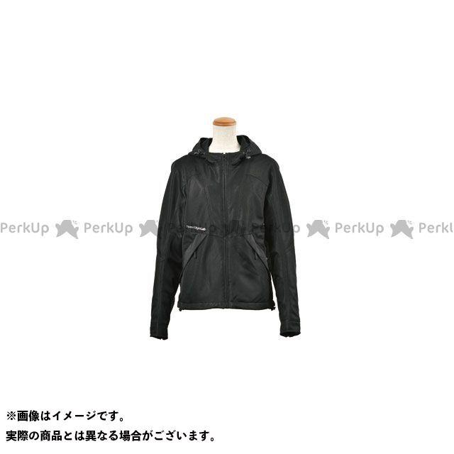 ロッソスタイルラボ ジャケット 2020春夏モデル ROJ-89 フーデッドメッシュジヤケット(ブラック) サイズ:L RossoStyleLab