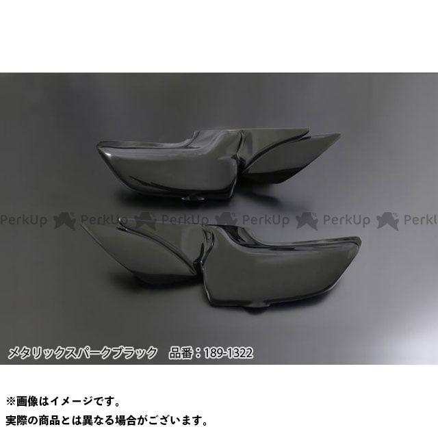 ピーエムシー カウル・エアロ Z2タイプ サイドカバー Z900RS ブラック PMC