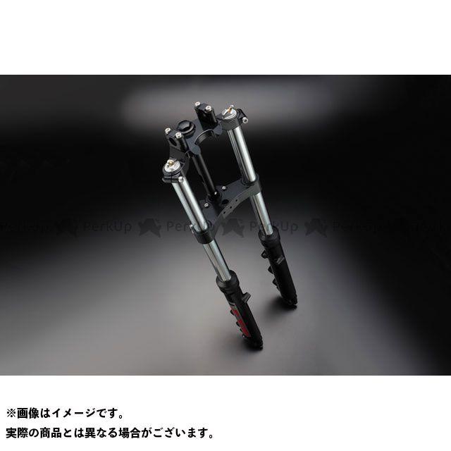 ピーエムシー フロントフォーク S=370 FORKASSY Z1/2 銀36KZ/黒T-2 PMC