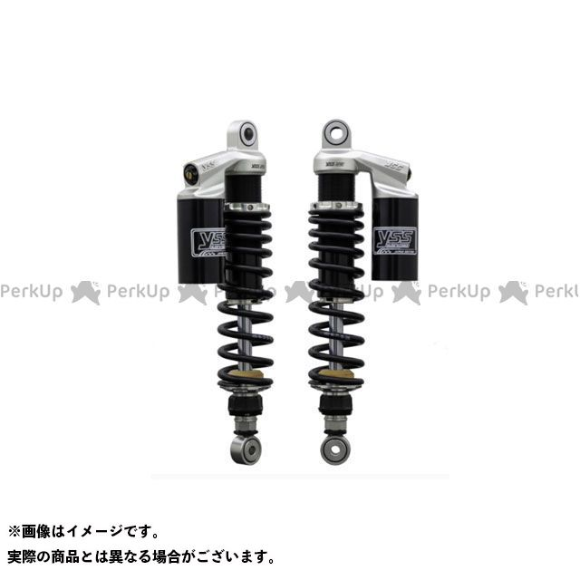 YSS RACING W650 リアサスペンション関連パーツ Sports Line G366 330mm ボディカラー:ブラック スプリングカラー:レッド YSS