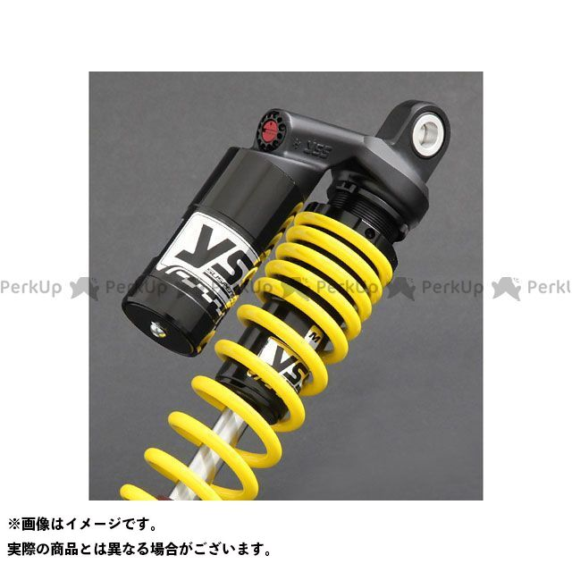 YSS RACING CB750K リアサスペンション関連パーツ Sports Line G366 340mm ボディカラー:ブラック スプリングカラー:イエロー YSS