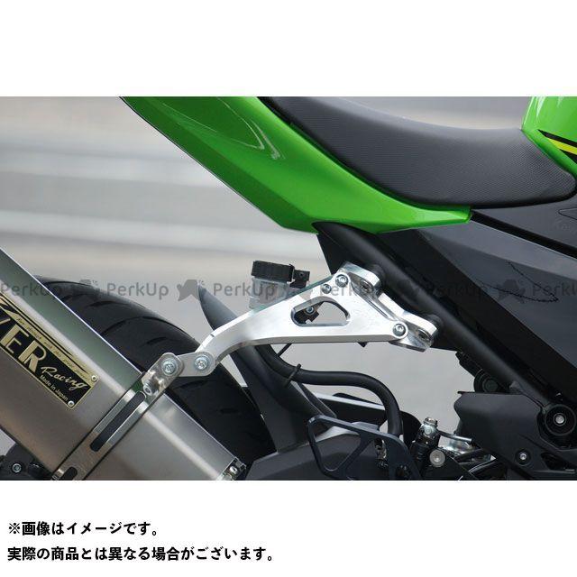 【無料雑誌付き】OVER RACING ニンジャ250 ニンジャ400 タンデムステップ関連パーツ Ninja250/400(18-) アルミビレットステー(ブラック) オーバーレーシング