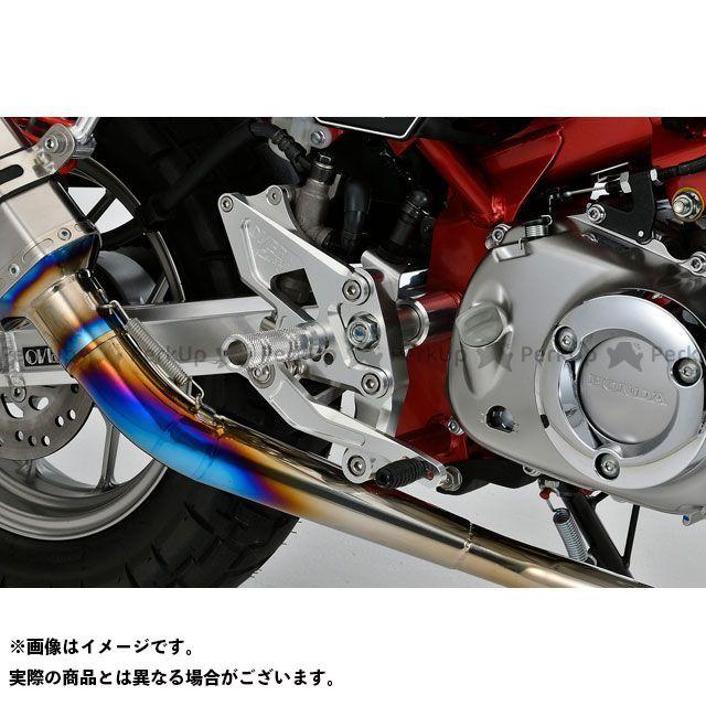 【無料雑誌付き】OVER RACING モンキー125 バックステップ関連パーツ Monkey125 バックステップ(シルバー) オーバーレーシング